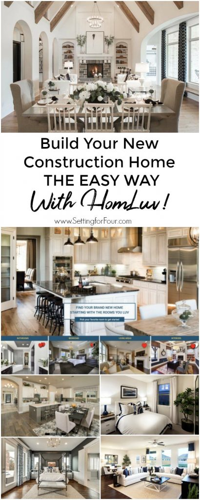 Build Your New Construction Home The Easy Way With HomLuv! #home #building #construction #builder