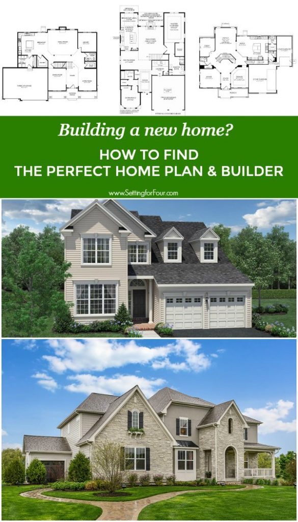 Building a new home? How to find the perfect home plan and builder in your area! #home #design #houseplan #houseideas #builder #construction #homeplan #building