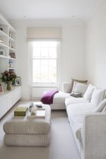 Do you have a small living room in your tiny home, small apartment or condo? Feeling cramped and wish you could make it feel bigger? Learn 7 Ways To Make A Small Living Room Feel Larger Instantly! Expand your living room visually and create a feeling of spaciousness with these amazing design tips. Using mirrors, decor and lighting in strategic ways you can! Read my decorating tricks on how to banish that cave-like feeling and get the brightness and openness you crave!