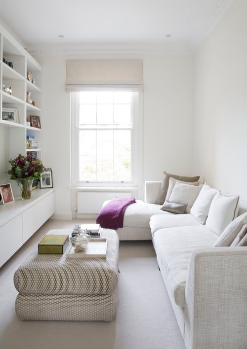 7 Ways To Make A Small Living Room Feel Larger Instantly! #decor #homedecor