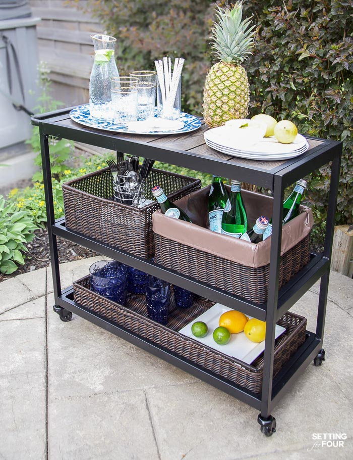 Awesome Outdoor Patio Ideas, Patio Furniture And Backyard Decor #outdoor #patio # Barcart #