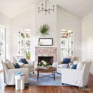 See the 5 Ways To Add Coastal Style To Your Home! Learn the 5 basic design elements to create a relaxed beach inspired oasis. #coastal #design #style #decor #decorideas