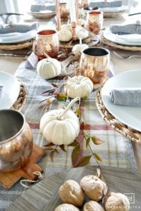 25 Gorgeous Fall Table Setting Ideas