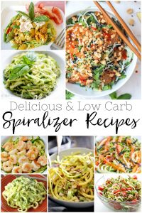 20 Delicious & Low Carb Spiralizer Recipes