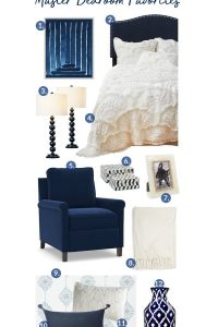 Dreamy Blue And White Master Bedroom Favorites