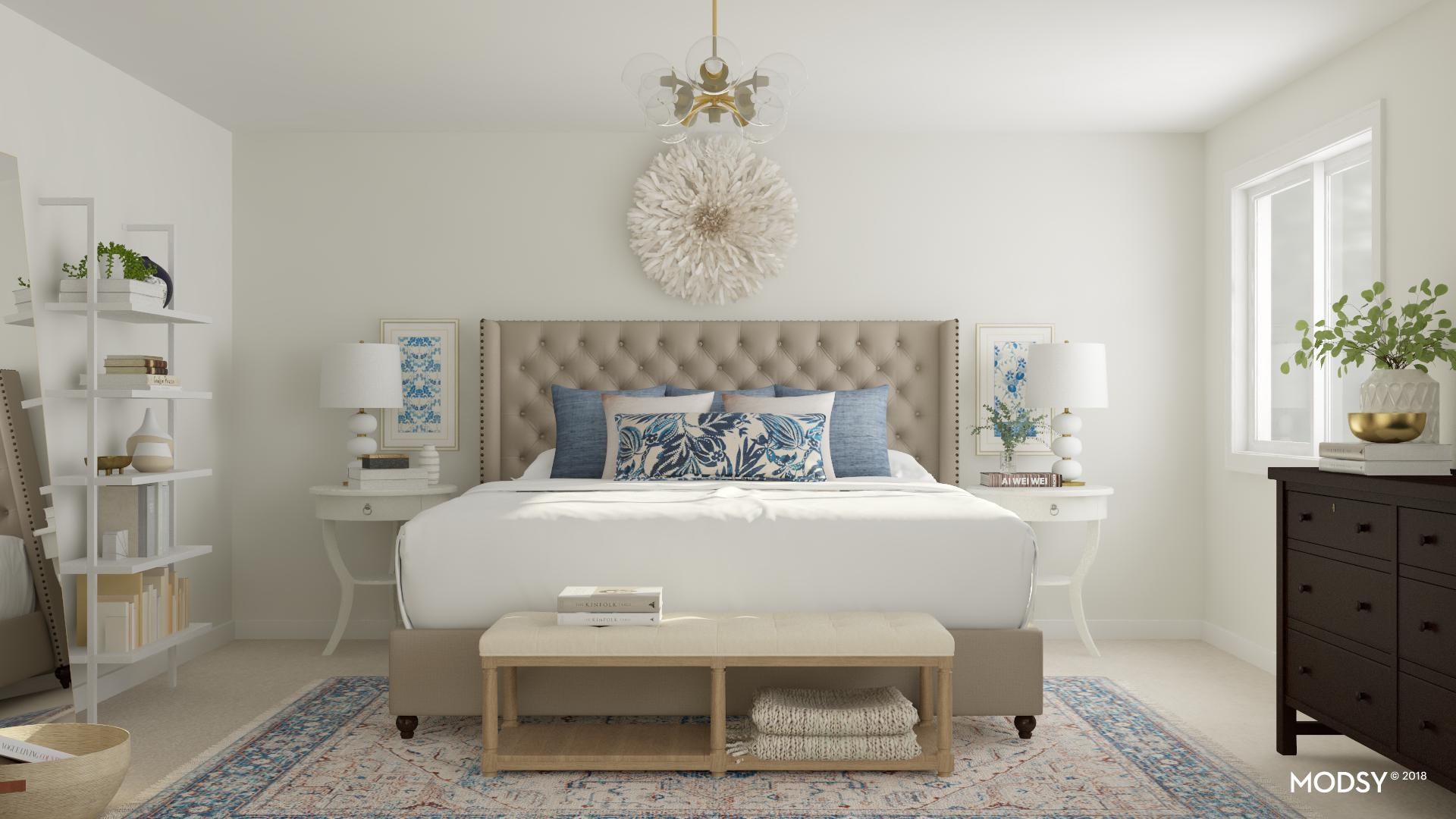 See 9 Gorgeous Master Bedroom Design Ideas With The Virtual 3 D Service Modsy