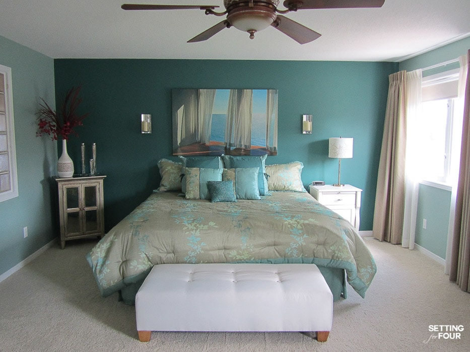 Choosing Our Bedroom Paint Color - Sherwin Williams Pure ...