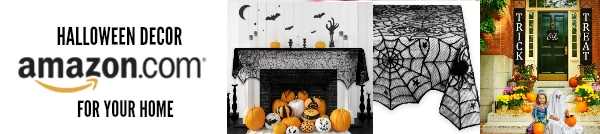 Amazon Halloween Decor to love! #halloween #decor #spooky #beautiful #family
