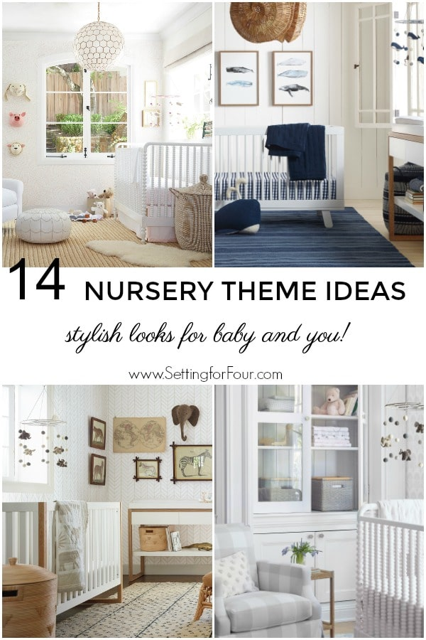 14 Elegant & Beautiful Nursery Theme Ideas - stylish looks for baby and you! #elegant #nursery #theme #boy #girl #baby #parenting #design #furniture #decorideas