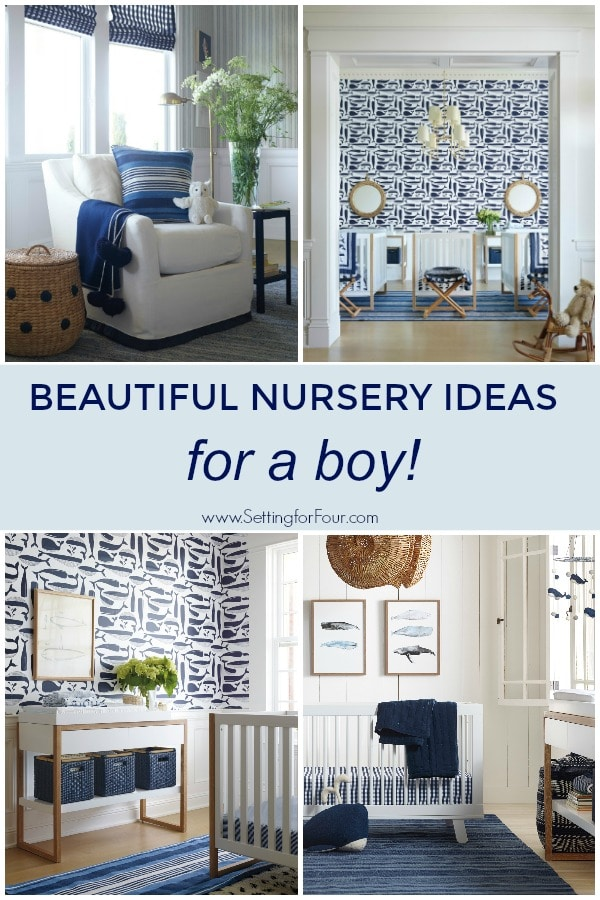Beautiful Nursery Theme Ideas for a Boy! #elegant #nursery #decor #decorinspiration #boy #baby #parenting #design #furniture