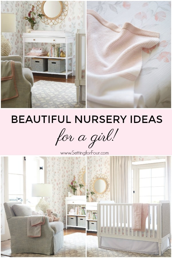 Beautiful Nursery Theme Ideas for a Girl! #elegant #nursery #decor #decorinspiration #girl #baby #parenting #design #furniture