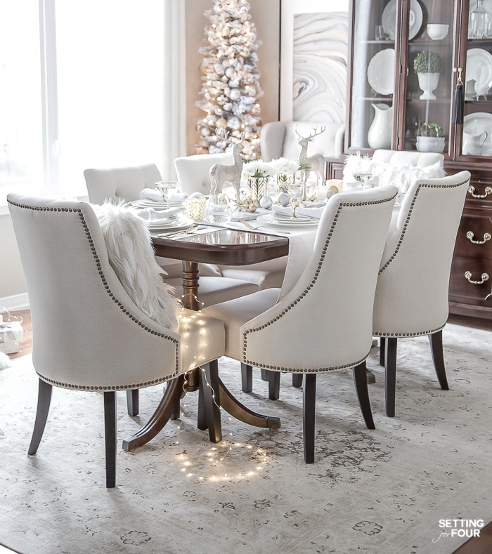 Brilliant Styled And Set Christmas Table Decor Ideas Setting For Four Beutiful Home Inspiration Papxelindsey Bellcom