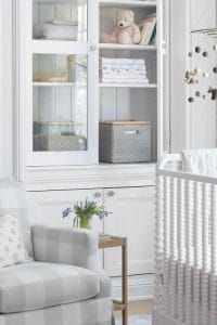 See these 10 Essential Ideas for an Elegant Nursery - stylish furniture designs and decor ideas that will grow with your family! #elegant #nursery #furniture #design #decor #decorideas #boy #girl #neutral