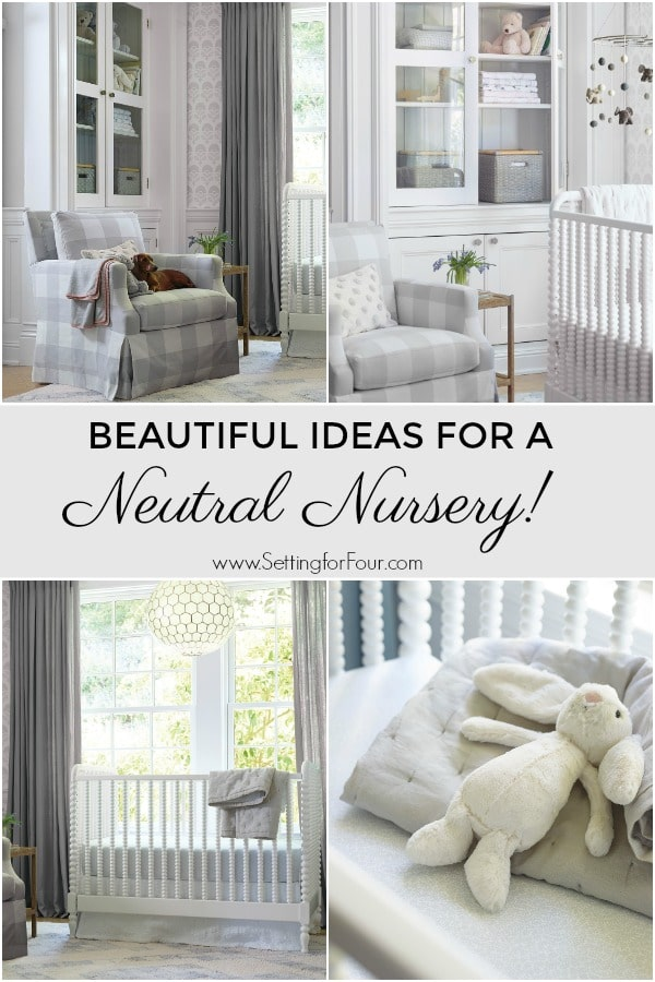 Beautiful Ideas for a Neutral Nursery - furniture and decor ideas! #neutral #nursery #furniture #decor #decorideas #design #boy #girl #genderneutral