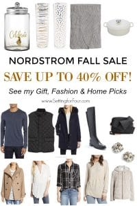 Up to 40% off! The Nordstrom Fall Sale is a fabulous sale to pick up gifts, refresh your home and your wardrobe.#nordstrom #sale #onlineshopping #gift #fashion #women #men #decor #Christmas #holiday