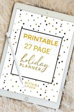 Printable Holiday Planner – 27 Pages to Organize and Plan Christmas!