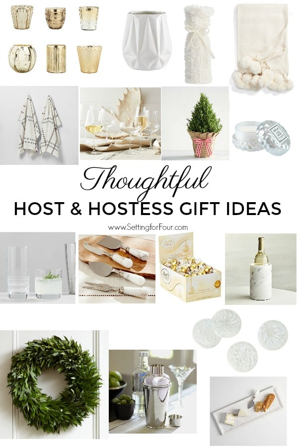 Thoughtful Host & Hostess Gift Ideas - Setting for Four