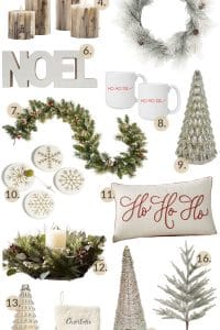 Beautiful & Neutral Christmas Decor Ideas For The Home #neutral #elegant #christmasdecor #christmas #christmastree #christmaswreath #christmasgarland #holidaydecor
