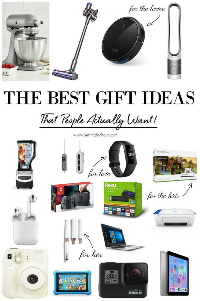 9c6d4944ca37 Gift Ideas That People Actually Want! - Setting for Four