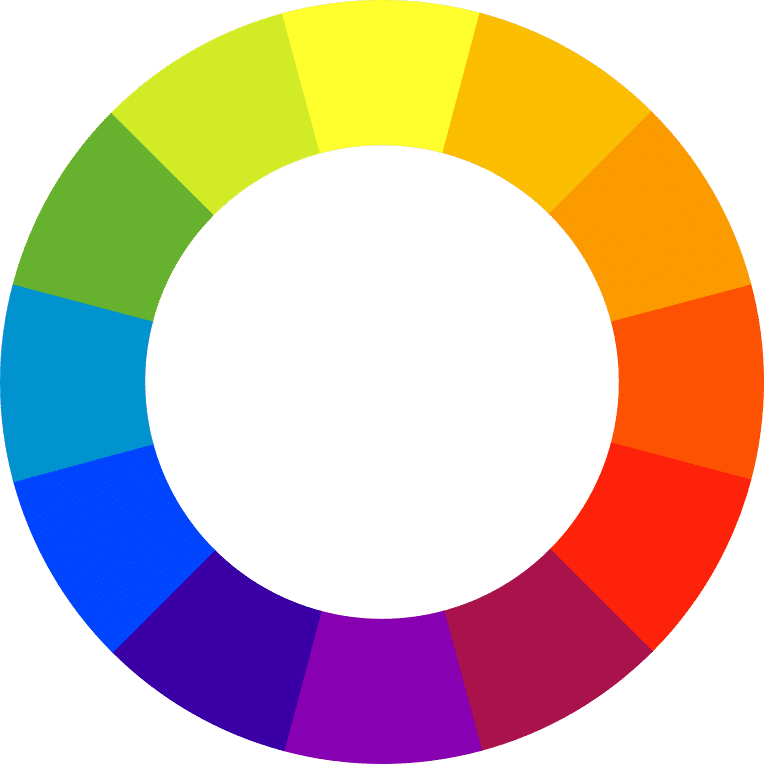 How the color wheel works. #color #design #decor #colorpalettes #colorschemes #decorideas