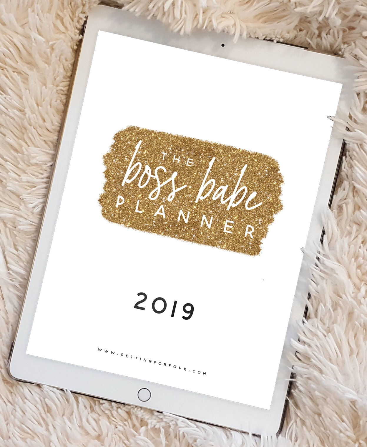 2019 Planner printable pack with 106 pages to organize your life! #planning #planner #menus #mom #family