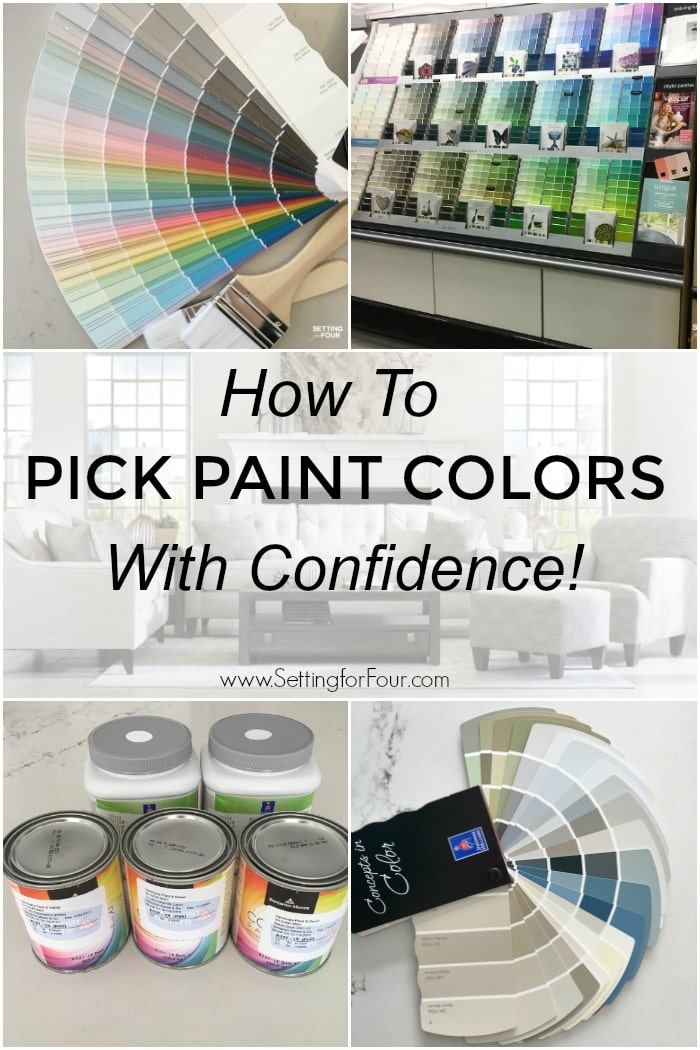 How To Pick Paint Colors With Confidence