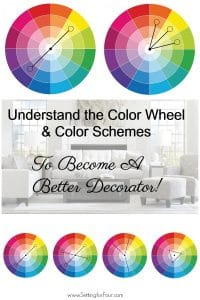 Learn what colors go together and why your paint color looks wrong in this color design lesson! #decor #paint #color #colorwheel #decorator #decorideas #interiordesign #colorschemes #colorpallettes