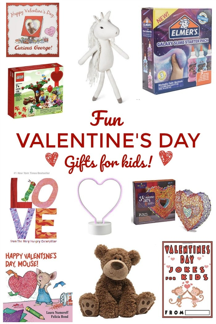 Valentine's Day Gift Ideas for Kids! Son, daughter, cousins. #gift #giftguide #valentinesday #valentines #giftideas #kids #children #kidsactivities #kidscrafts #kidsbooks