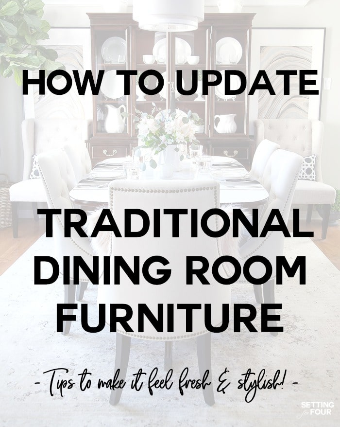 Astounding How To Update Dining Room Furniture Setting For Four Download Free Architecture Designs Grimeyleaguecom