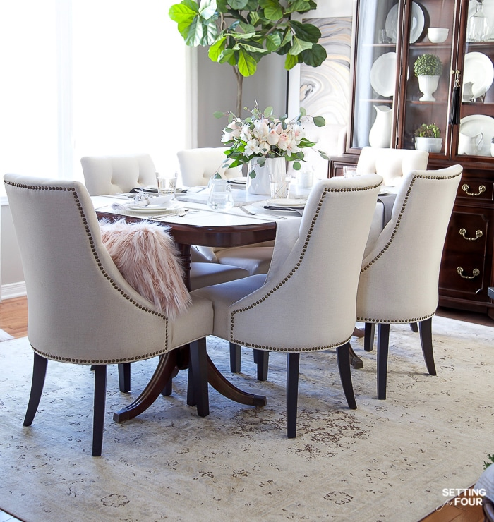 Magnificent How To Update Dining Room Furniture Setting For Four Download Free Architecture Designs Grimeyleaguecom