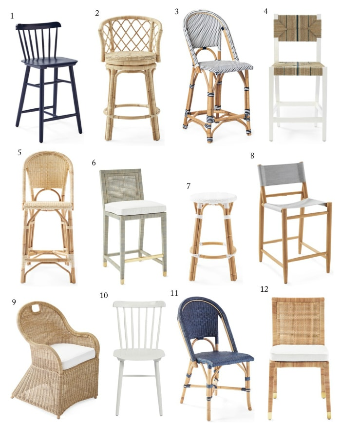 OMGEE!! Check out the Serena & Lily Sale! 20% OFF EVERYTHING! Dining chairs, counter stools, bar stools! #shopping #sale #savings #furniture #gifts #diningchairs #stools