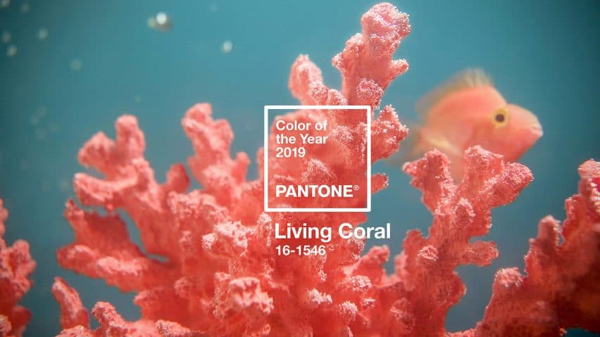 Pantone Color of the Year Living Coral #pantone #livingcoral #color #2019 #decor