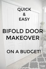 Quick & Easy Bifold Doors Makeover On A Budget!