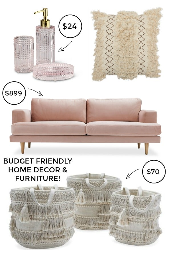 See this beautiful, budget friendly home furniture and decor collection at Walmart! #walmart #homedecor #furniture#ideas #budget #thrifty