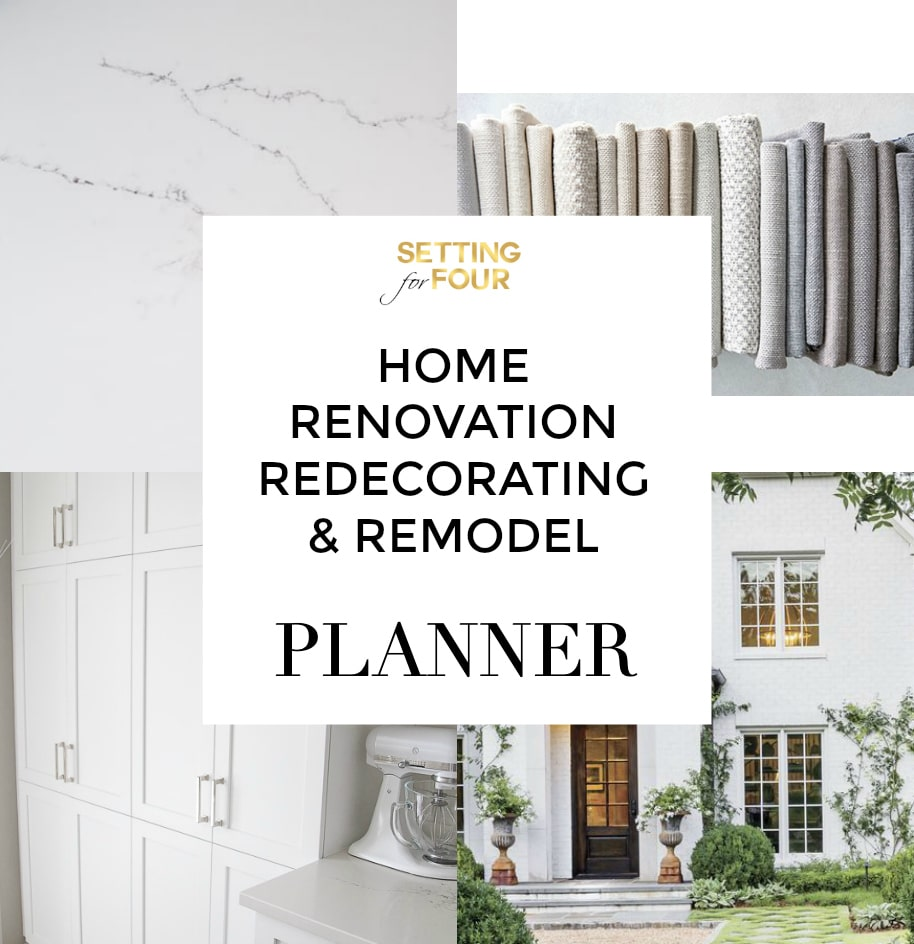 HOME RENOVATION, REDECORATING & REMODEL PLANNER!