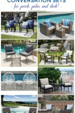 Affordable 3 Piece Conversation Set Ideas For The Patio, Porch & Deck
