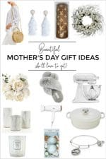 Mother's Day gift ideas. Fashion, beauty, decor, kitchenware, jewelry ideas.