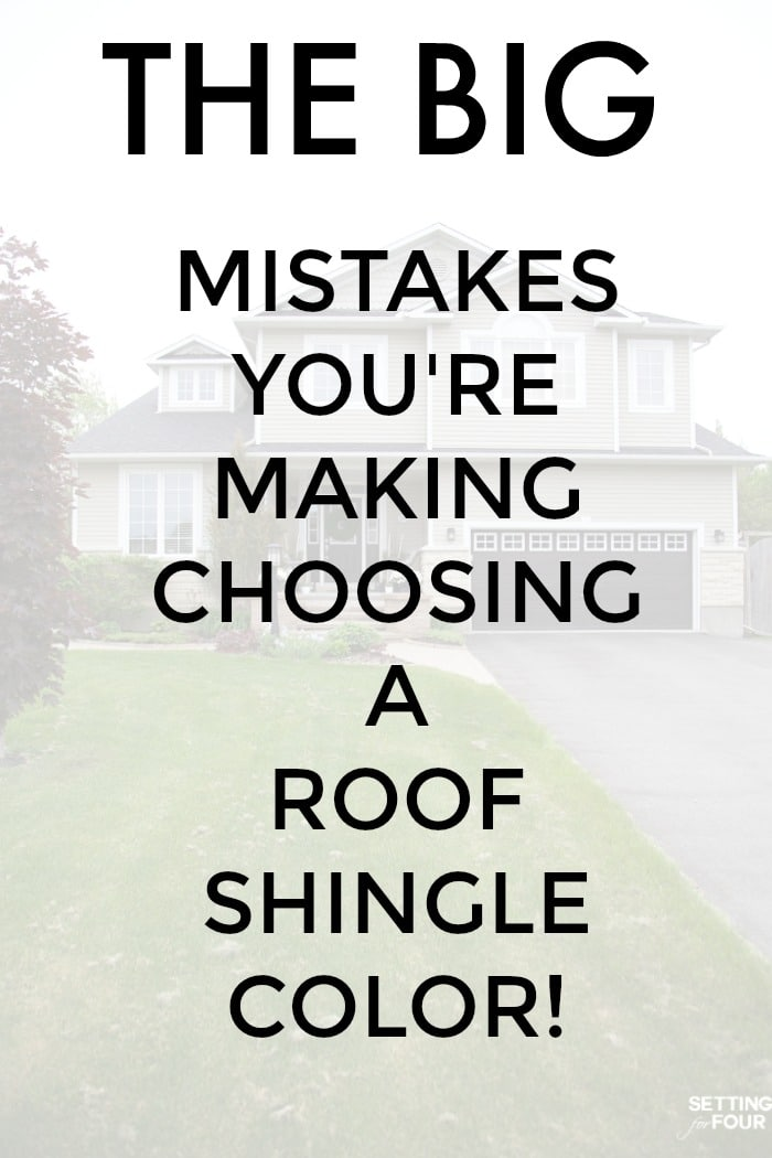 The BIG Mistakes You're Making Choosing A Roof Shingle Color
