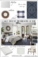 Lake House Bedroom Paint Color Ideas, Furniture & Decor Ideas