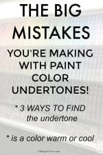 How To Identify Paint Color Undertones – To Choose The Right Color