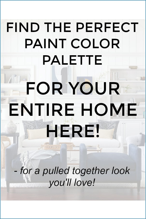 Graphic to show how to pick all the colors for the entire home.
