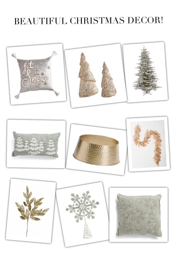 Beautiful & affordable Christmas decor ideas for the home!