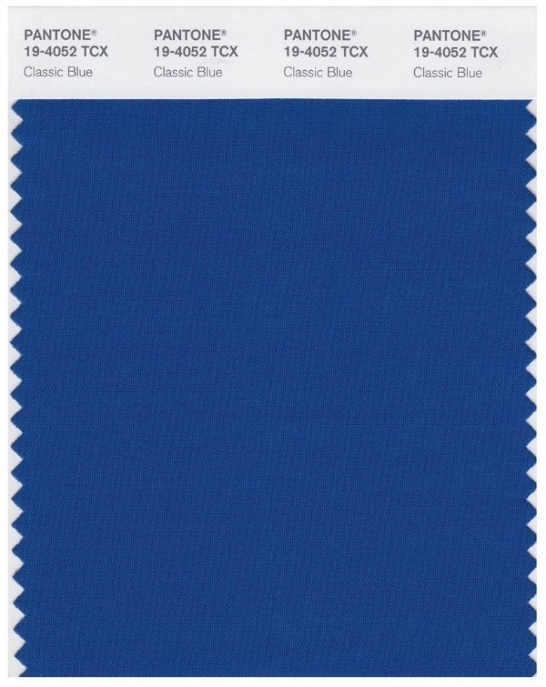 Pantone Color Of The Year 2020 Classic Blue swatch