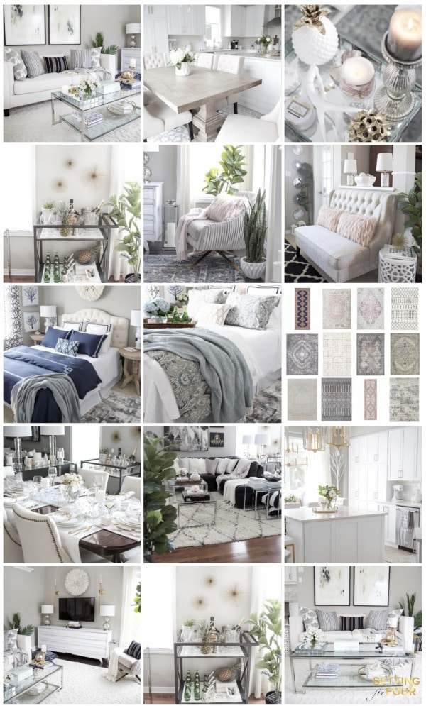 Shop my home! Shopping links to my furniture, decor, rugs, lighting and home style picks!