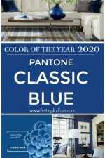How to Decorate with Pantone Color Of The Year 2020 Classic Blue