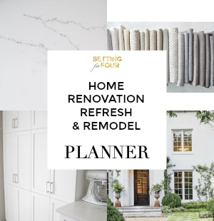 Printable Home Renovation, Redecorating and Remodel PLANNER!