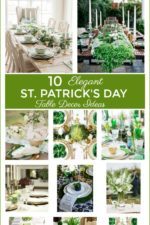 10 Elegant Saint Patricks Day Table Decor Ideas