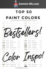 Top 50 Bestselling Paint Colors At Sherwin Williams