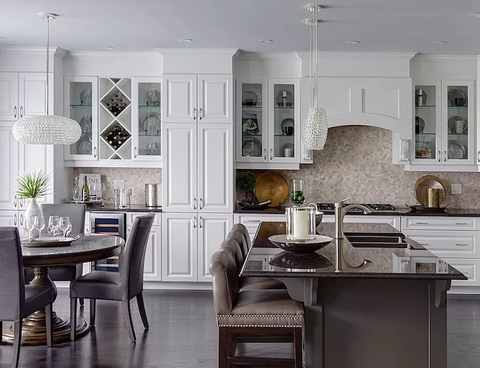 Way to Arrange Furniture For An Open Concept Kitchen and Dining Room Floor Plan
