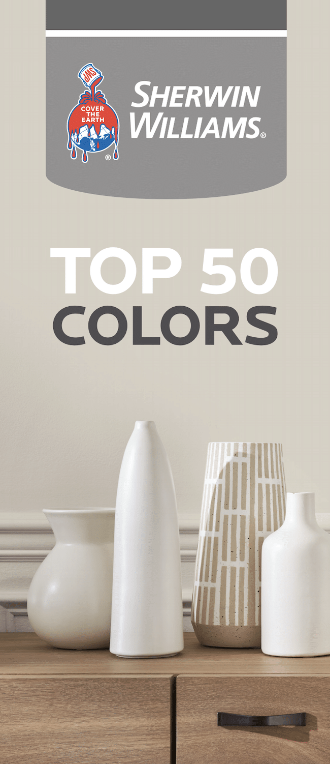 Popular, Top 50 BESTSELLING Sherwin Williams Paint Colors!